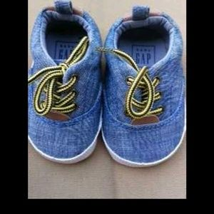 Jean Material Baby Shoes